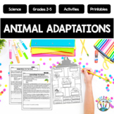 Animal Adaptations - Files on Giraffes, Camels, Dolphins,
