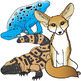 Animal Adaptations Clip Art Set