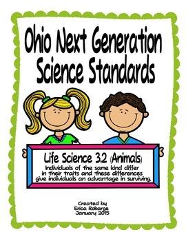 Animal Adaptations Tab Booklet (Ohio LS 3.2)