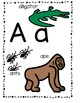 Animal Alphabet Fun ...  Posters/Flashcards/Centers/Printa