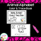Animal Alphabet Interactive Book & Animal Alphabet Color &
