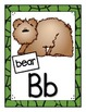 Animal Alphabet Wall Cards