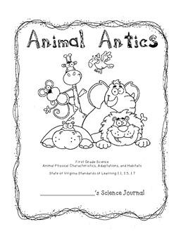 Animal Antics Interactive Science Journal