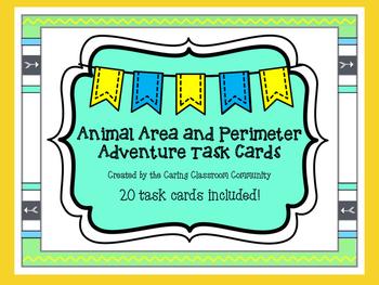 Animal Area and Perimeter Adventure