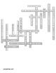 Animal Behavior Crossword for Biology II