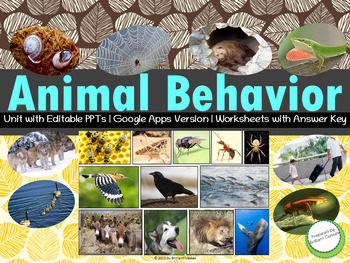Animal Behavior - Unit Pack with Worksheets