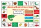 Animal Body Coverings Game board