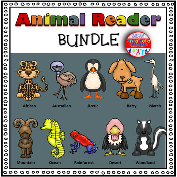 Animal Bundle - 10 Differentiated Emergent Readers