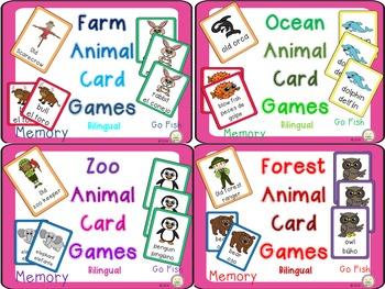 Animal Card Games Bundle