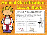 Animal Classification Characteristics Lesson Book fill in