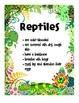 Animal Classification & Characteristics Posters