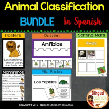 Animal Classification In Spanish