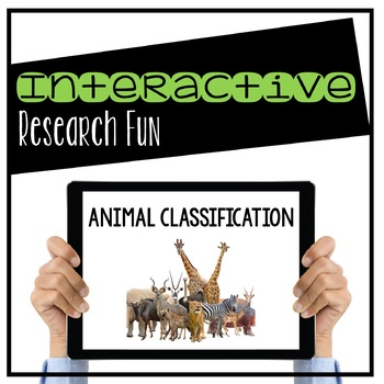 Animal Classification Digital Interactive Powerpoint