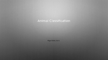 Animal Classification Notes, Activity, and Opinion Writing Prompt