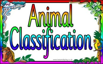 Animal Classification POWERPOINT WITH NOTES