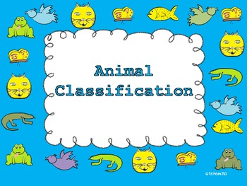 Animal Classification Packet