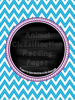 Animal Classification Reading Passages and Questions