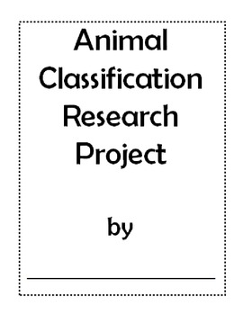 Animal Classification Research Project