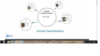 Animal Classifications Lesson Plan (Technology Integration