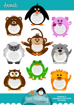 Animal Clipart - Personal & Commercial Use