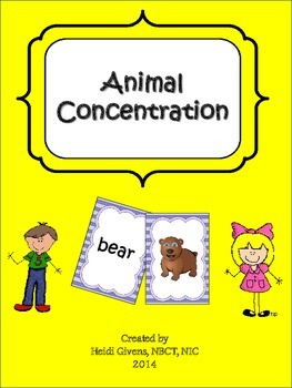Animal Concentration