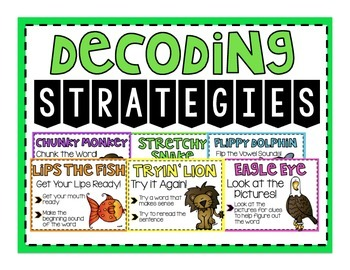 Animal Decoding Strategy Posters   Brights