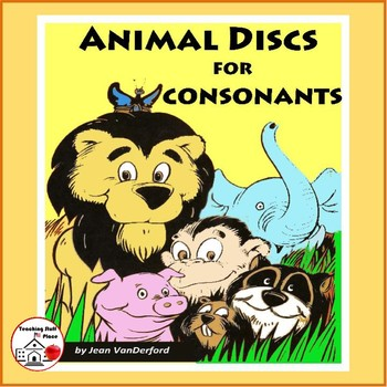 Consonant Sounds | Vocabulary | COLOR Animal DISCS |CORE K