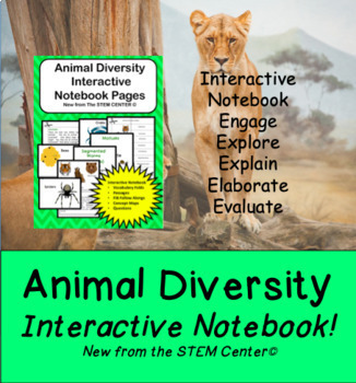 Animal Diversity Interactive Science Notebook