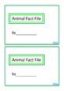 Animal Fact File Biology, Mini Book Set 1, Autism, Special