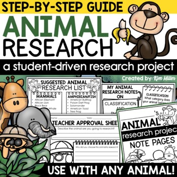 Animal Facts: Research & Student Booklet