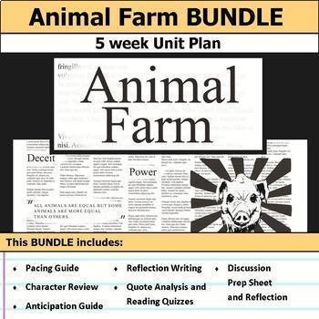 Animal Farm Unit Bundle