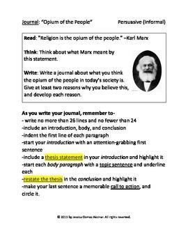 Animal Farm/Karl Marx Journal