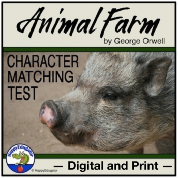Animal Farm Matching Test