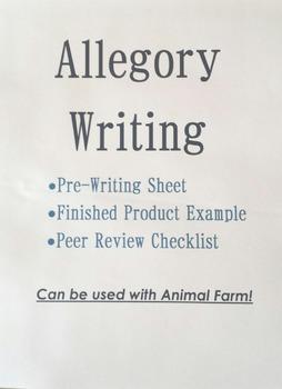 Animal Farm Writing-Compose an Allegory: Pre-Writing, Peer