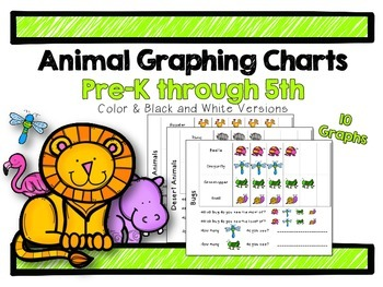 Animal Graphing Charts