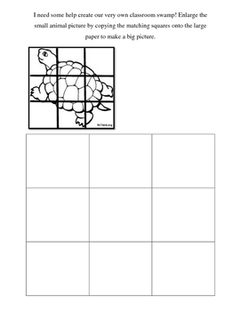 Animal Grid art/ math