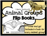 Animal Groups Flip Books