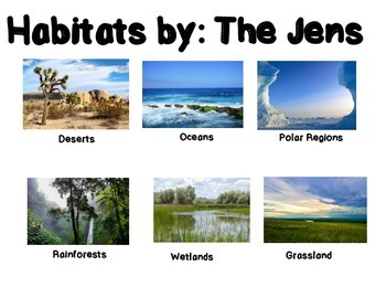 Animals and Plants Habitat Research Project