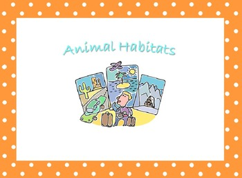 Habitat Cards and Charts