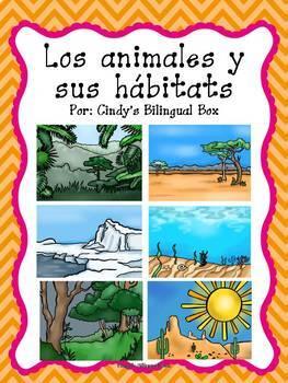 Animal Habitats in English and Spanish