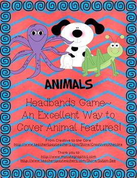 Animal Headbands Game!