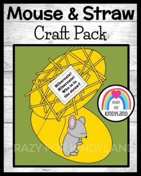 Animal Hibernation / Habitat Craft: Mouse and Straw
