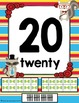 Animal Hipsters Classroom Theme 0-20 Numbers Posters