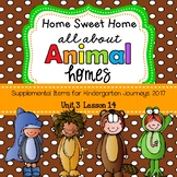 Animal Homes (Home Sweet Home) Journeys 2014
