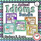 IDIOMS UNIT BUNDLE: Idioms Activities, Literacy Centers, T