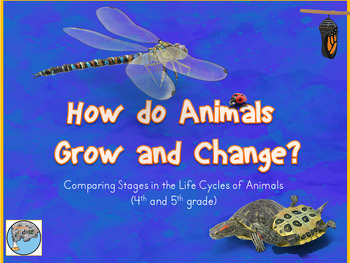 Animal Lifecycles PowerPoint and Student Interactive Noteb