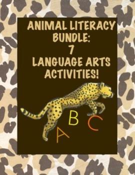 Animal Literacy Bundle:  7 First Grade Language Arts Activ