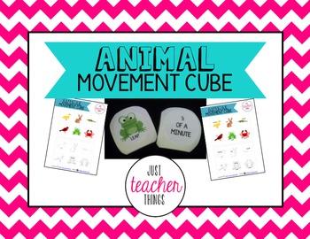 Animal Movement Cube