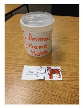 Animal Name Puzzle