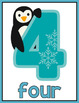 Animal Number Posters